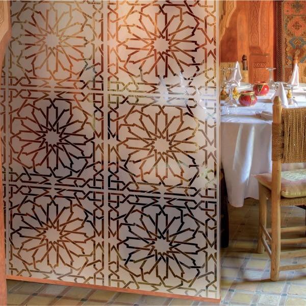 film mosaiques h 152cm films pour vitres. Black Bedroom Furniture Sets. Home Design Ideas