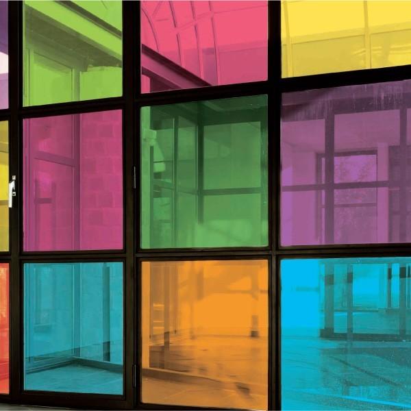 film color transparent h 75cm films pour vitres. Black Bedroom Furniture Sets. Home Design Ideas
